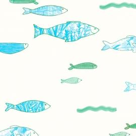 Papel de parede peixe | Sandra Jávera