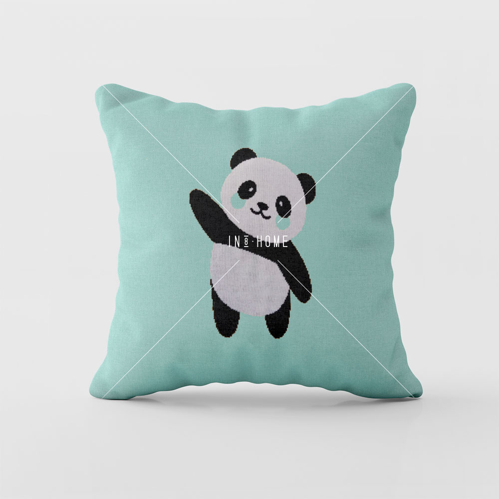 Almofadas Panda | Rian Tricot (disponivel em várias cores)