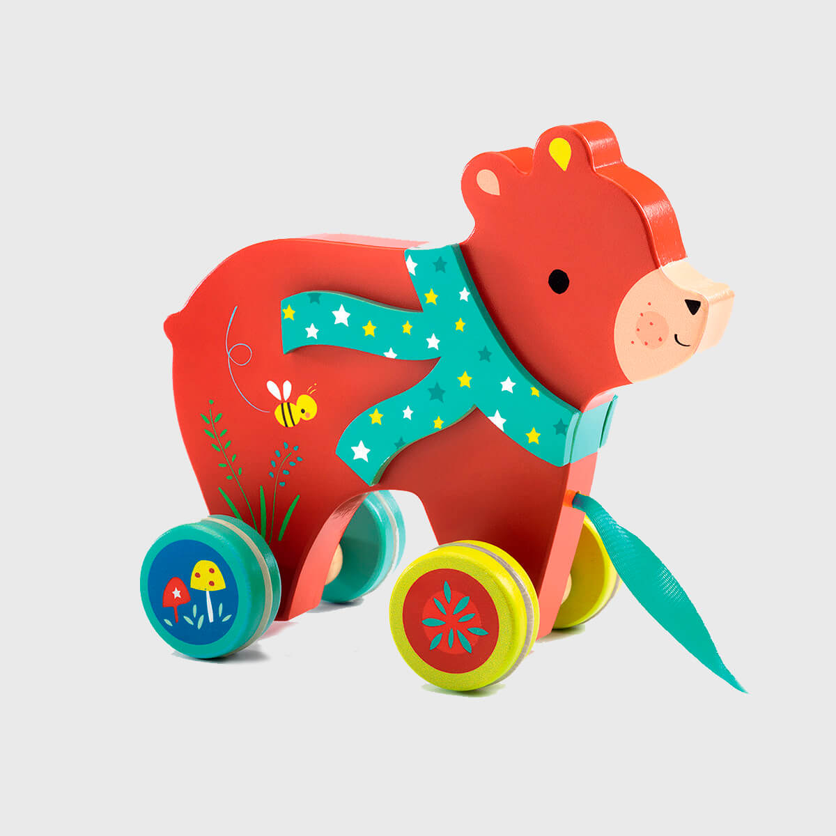 Animal em Madeira Urso