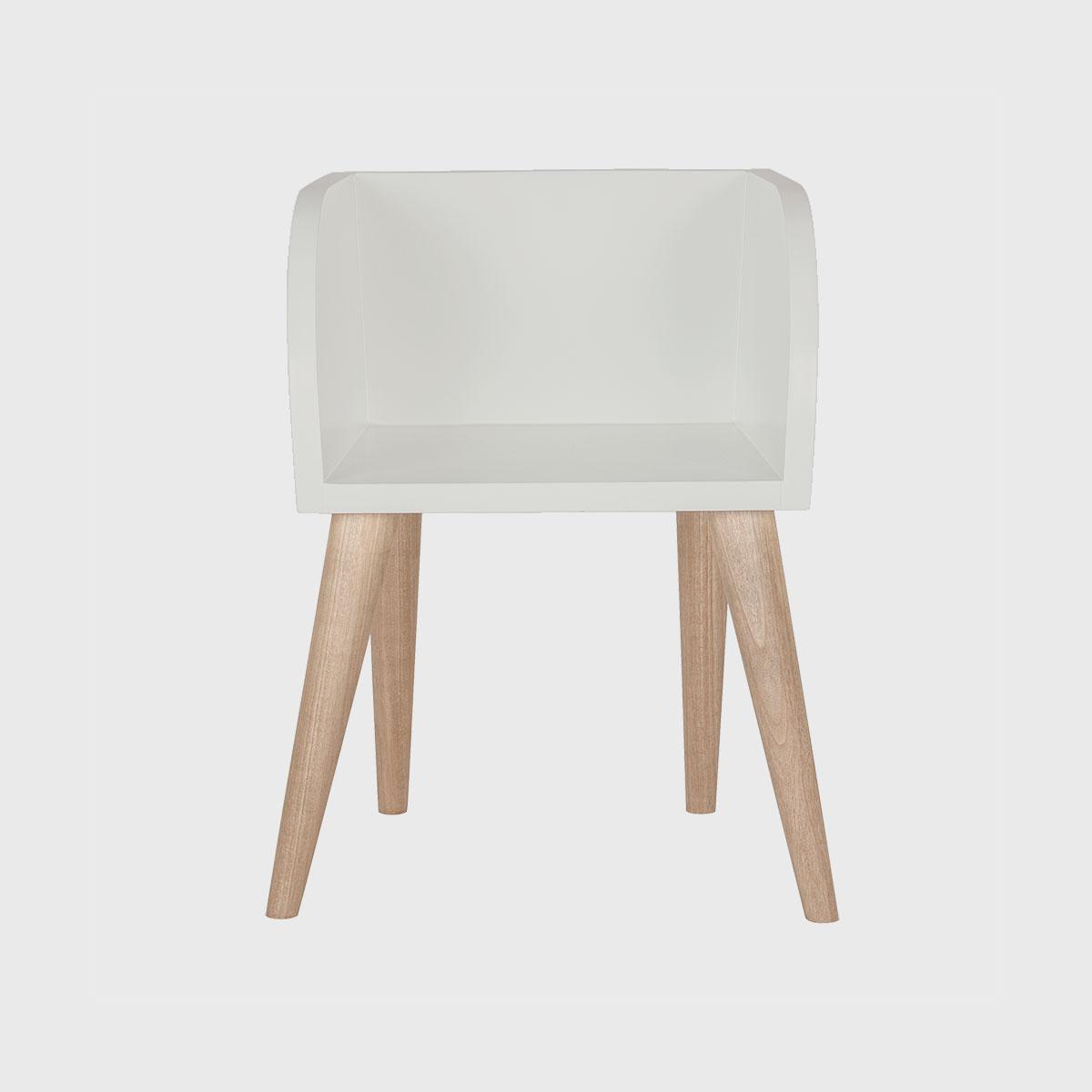Cadeira ioio jequitibá manteiga pintada