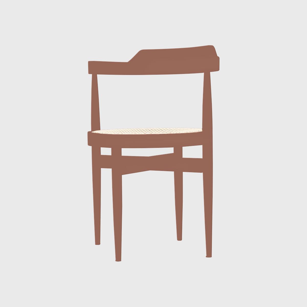 Cadeira oca pintada
