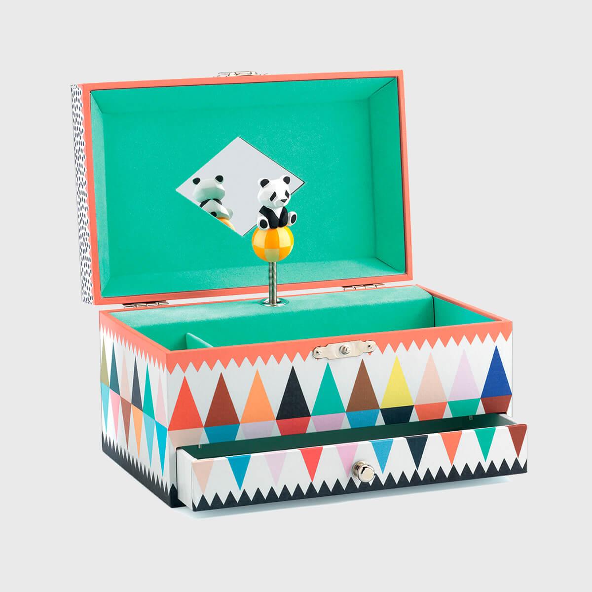 Caixa de Música Panda