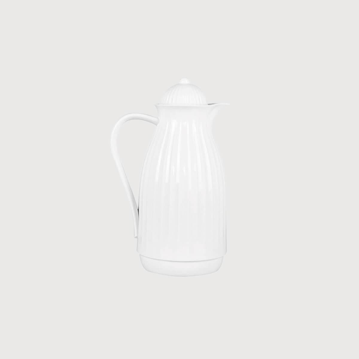 Garrafa térmica candy branca