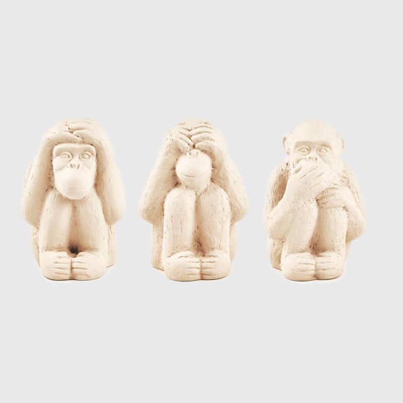 Kit Macaco Em Cimento