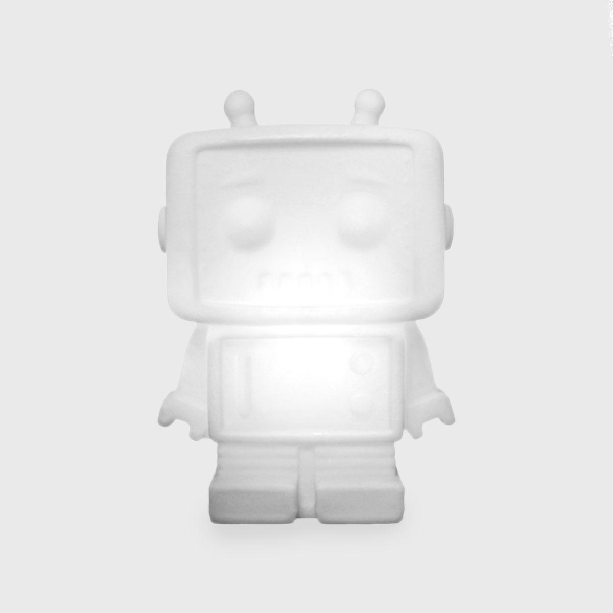 Luminária robô natural