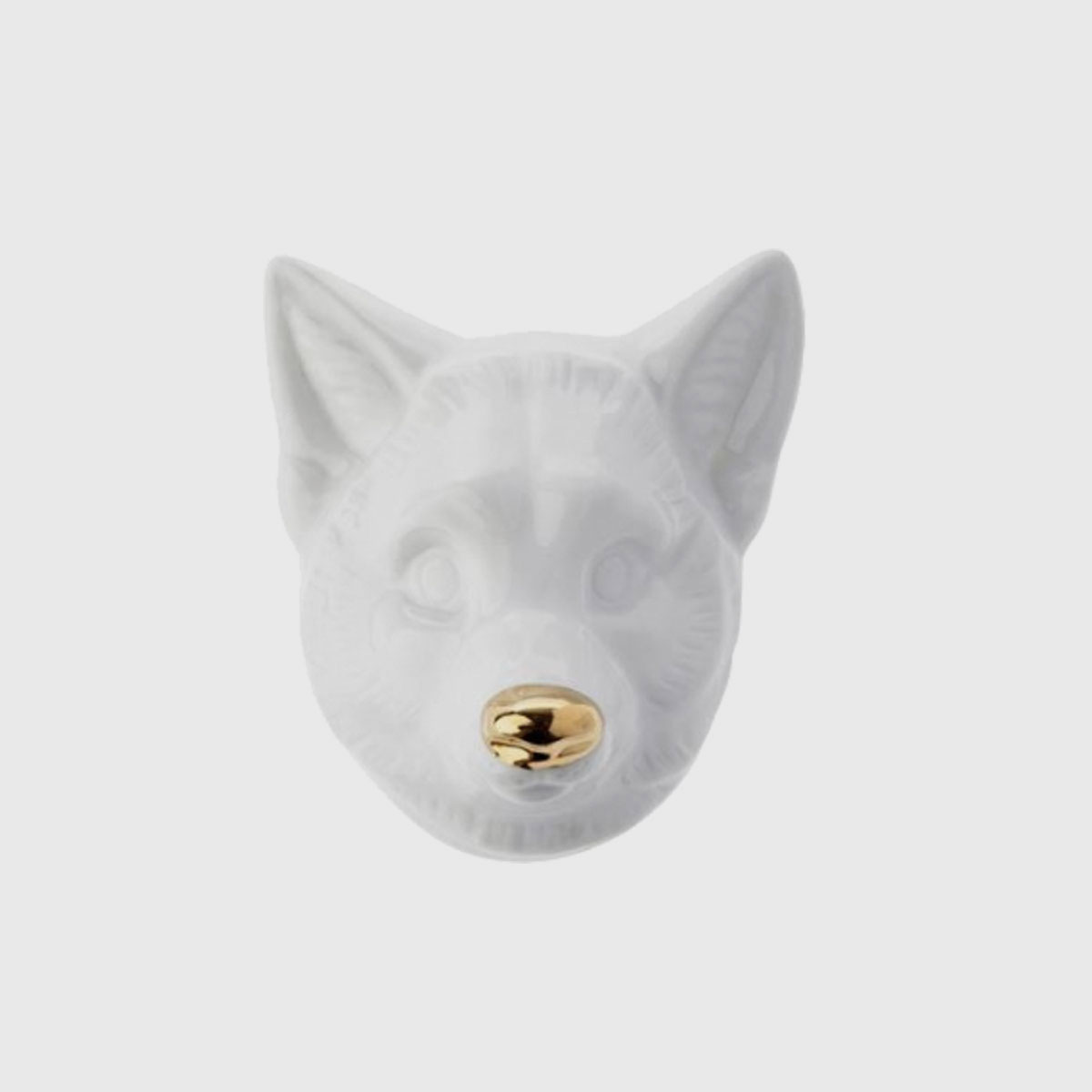 Máscara De Raposa Branco