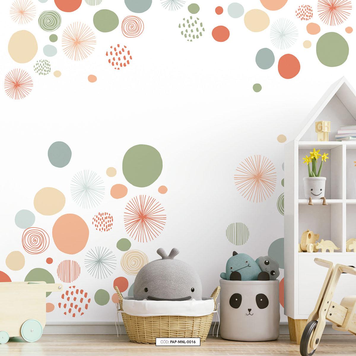 Painel de parede a vida é uma festa