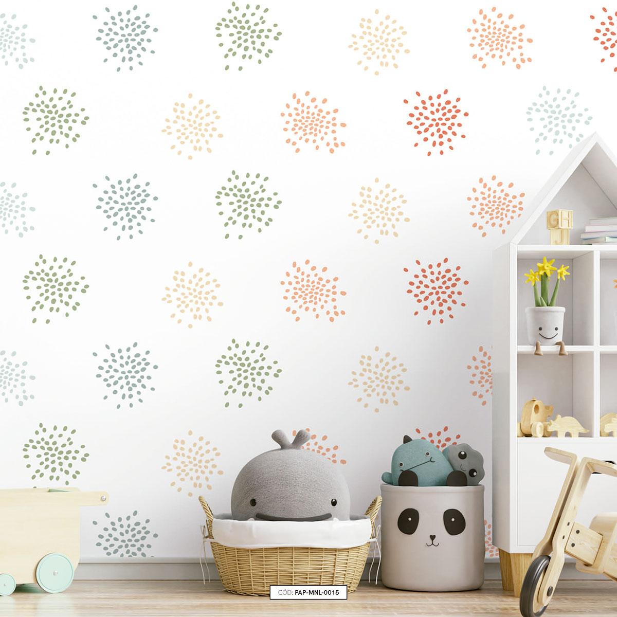 Painel de parede chuvisco colors