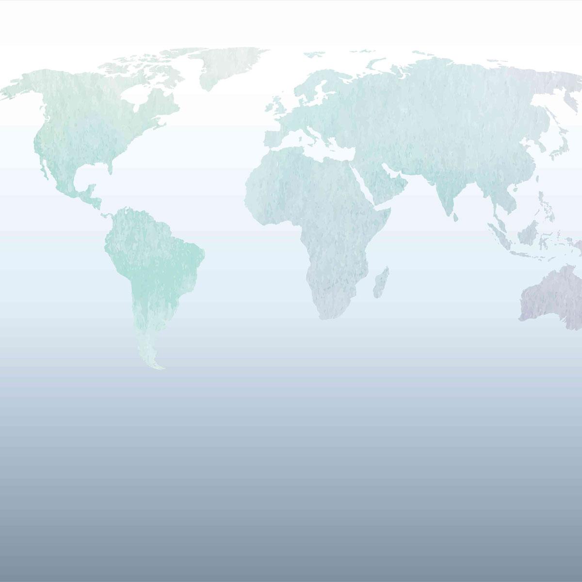 Painel mapa mundi
