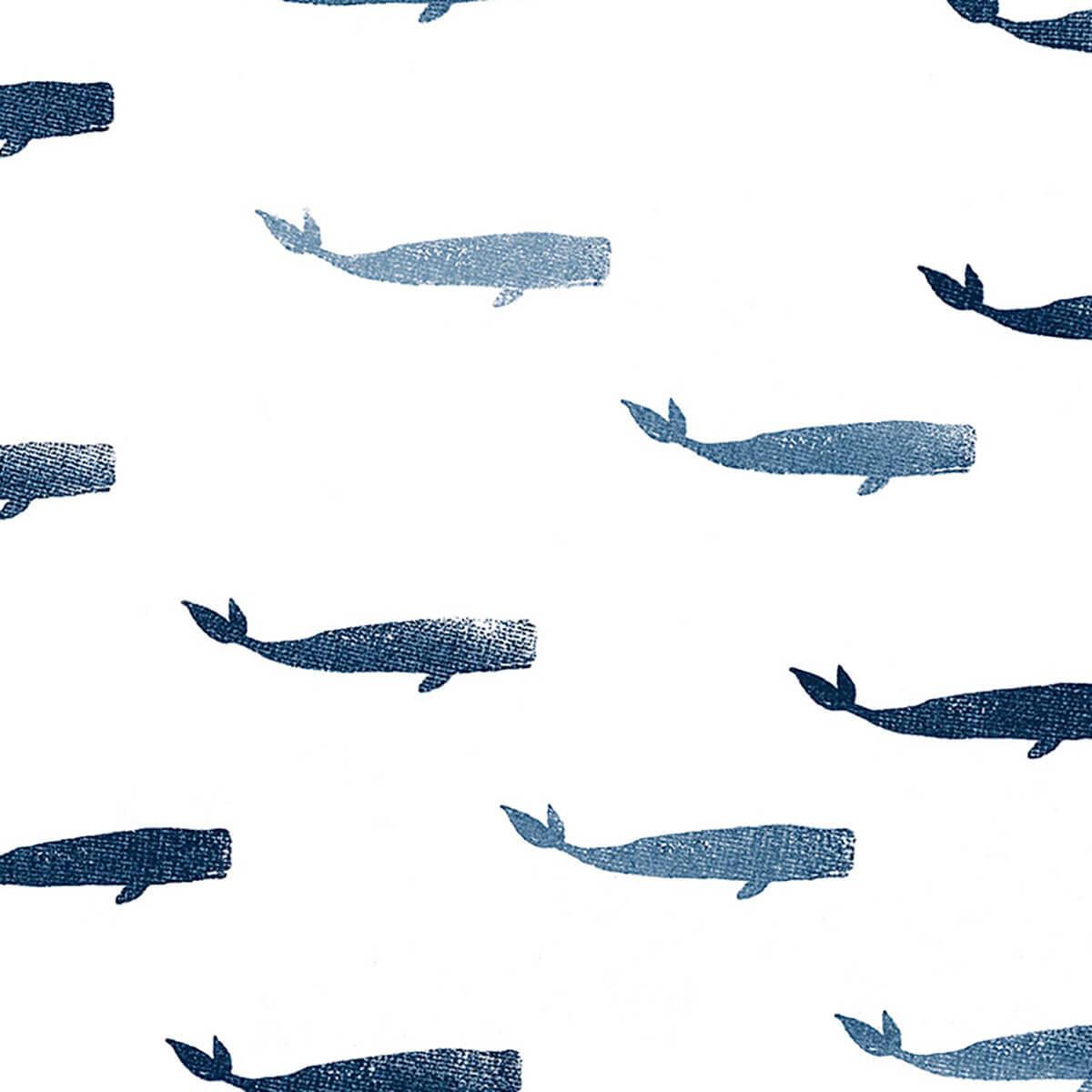 Papel de parede baleia | Estela Miazzi