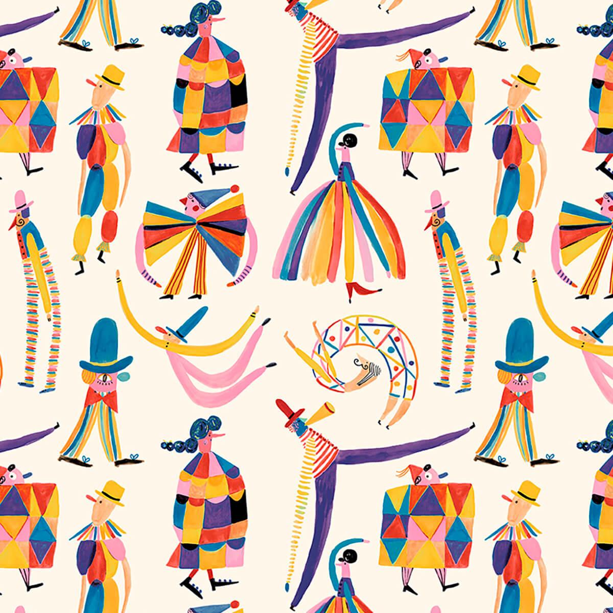 Papel de parede circo | Jana Glatt