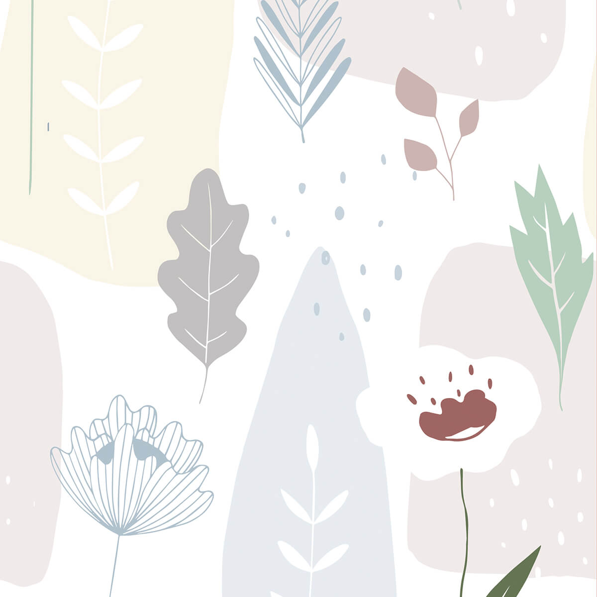 Papel de parede flora