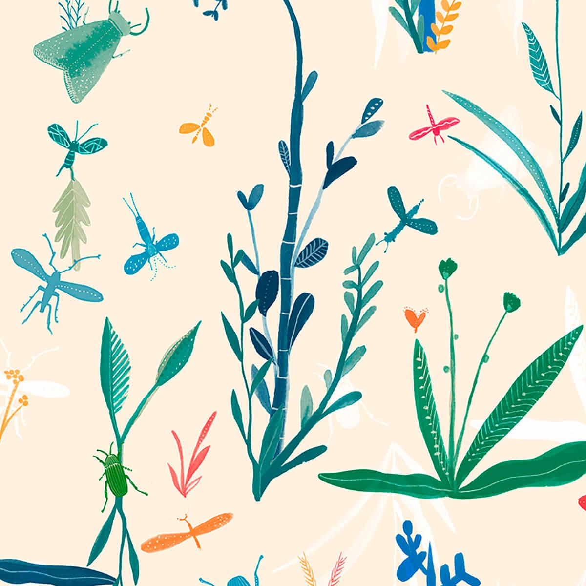 Papel de parede insetos   Sandra Jávera