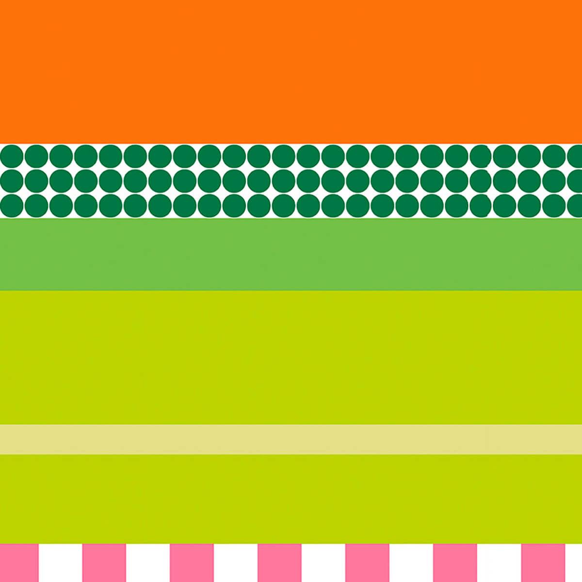 Papel de parede patch listras | Regina Strumpf