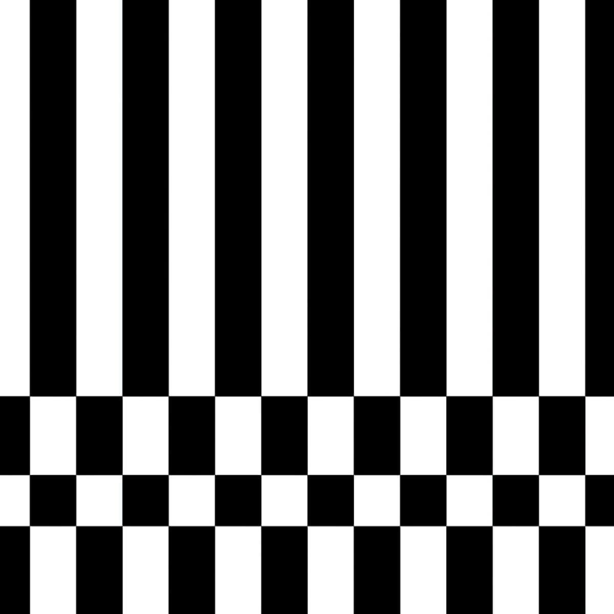 Papel de parede retângulos preto e branco | Regina Strumpf