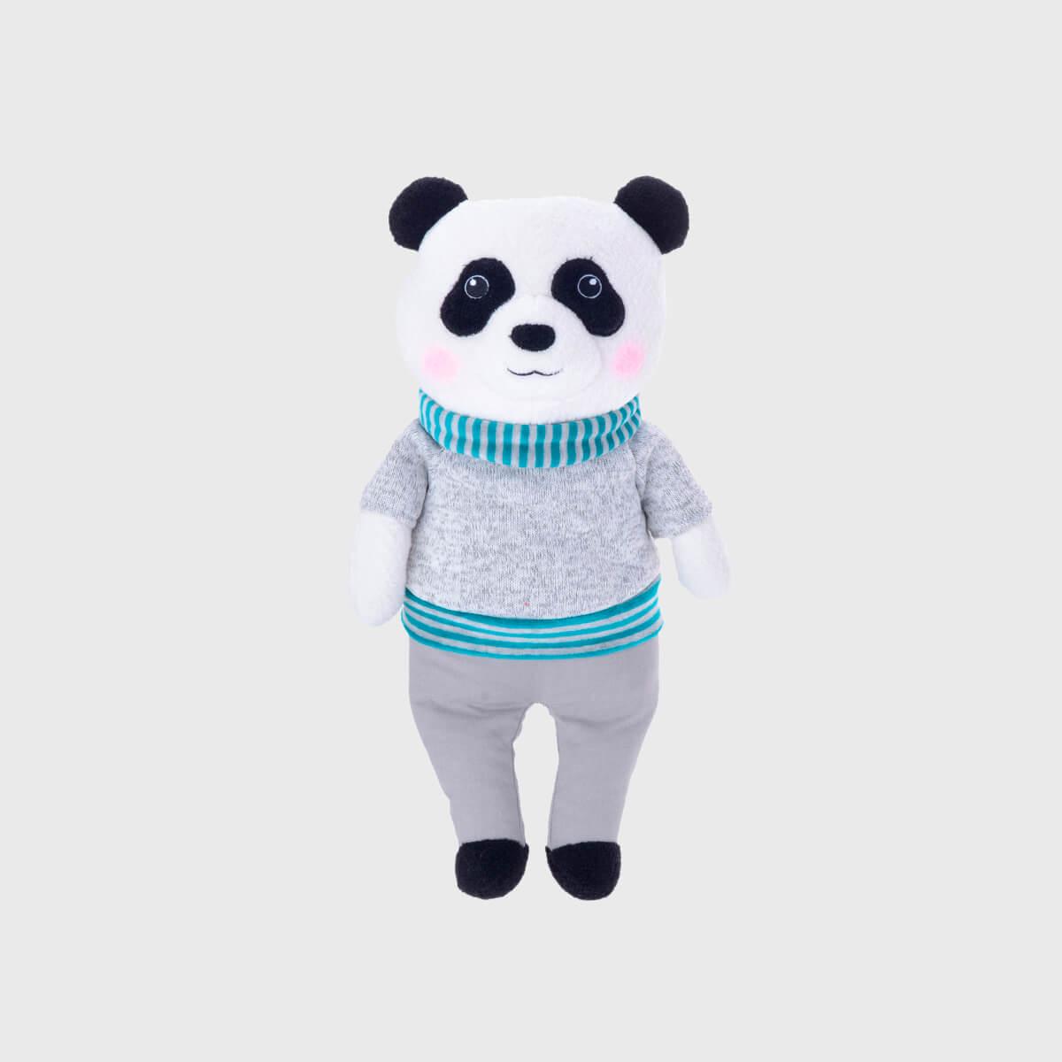 Pelúcia Metto Panda CInza