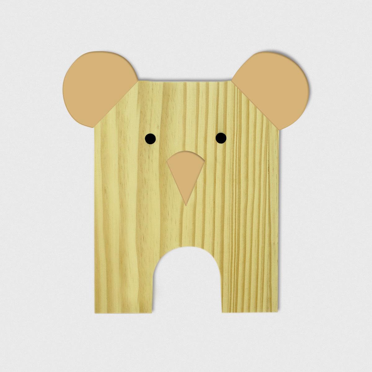 Placa de Bicho Koala