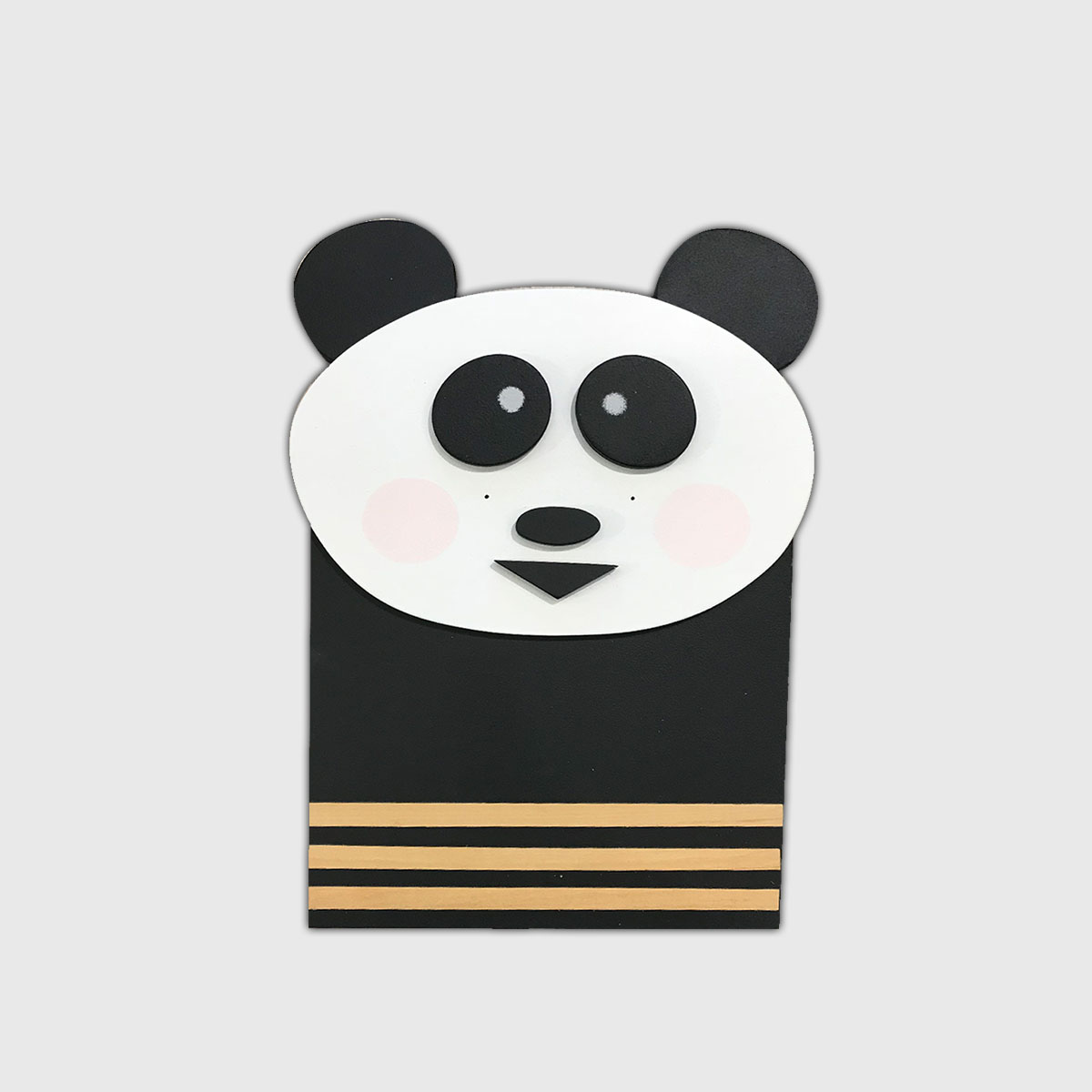 Placa de Bicho Panda