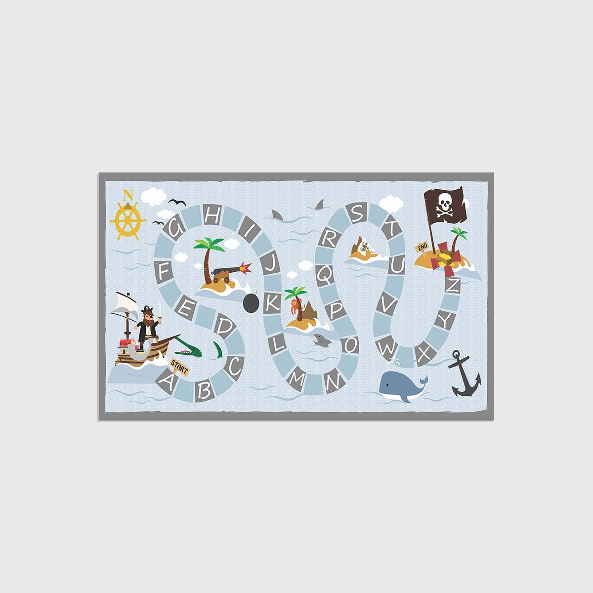 Playmat mapa do tesouro