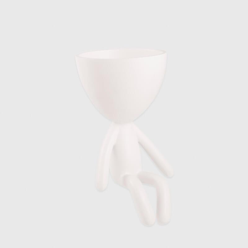 Vaso Sentado Branco