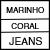 MARINHO/CORAL/JEANS