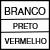 BRANCO/PRETO/VERMELHO