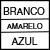 BRANCO/AMARELO/AZUL