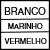 BRANCO/MARINHO/VERMELHO
