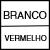 BRANCO/VERMELHO