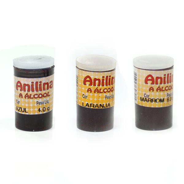 Anilina a Álcool - Glitter