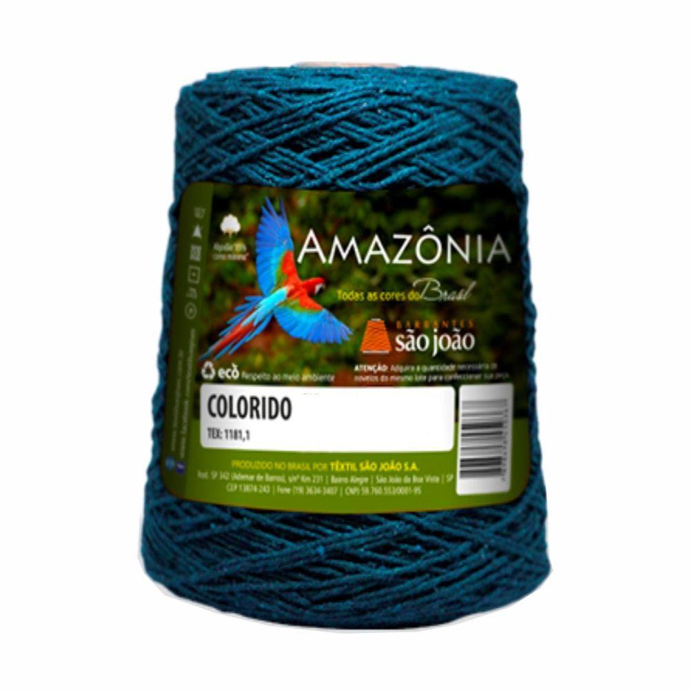 Barbante Amazônia Colorido N06 400g - São João