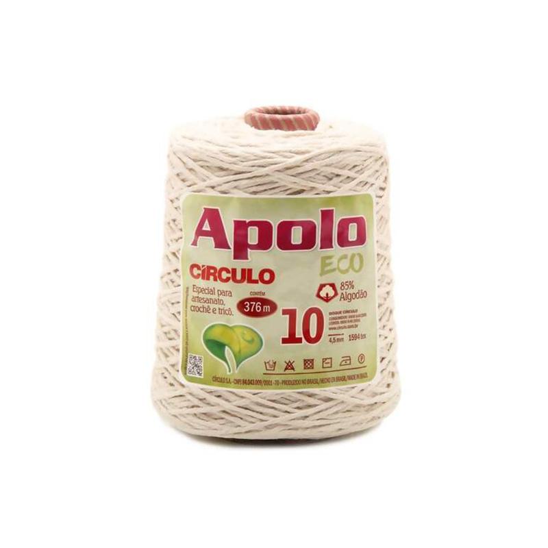 Barbante Apolo Crú N10 600g - Círculo