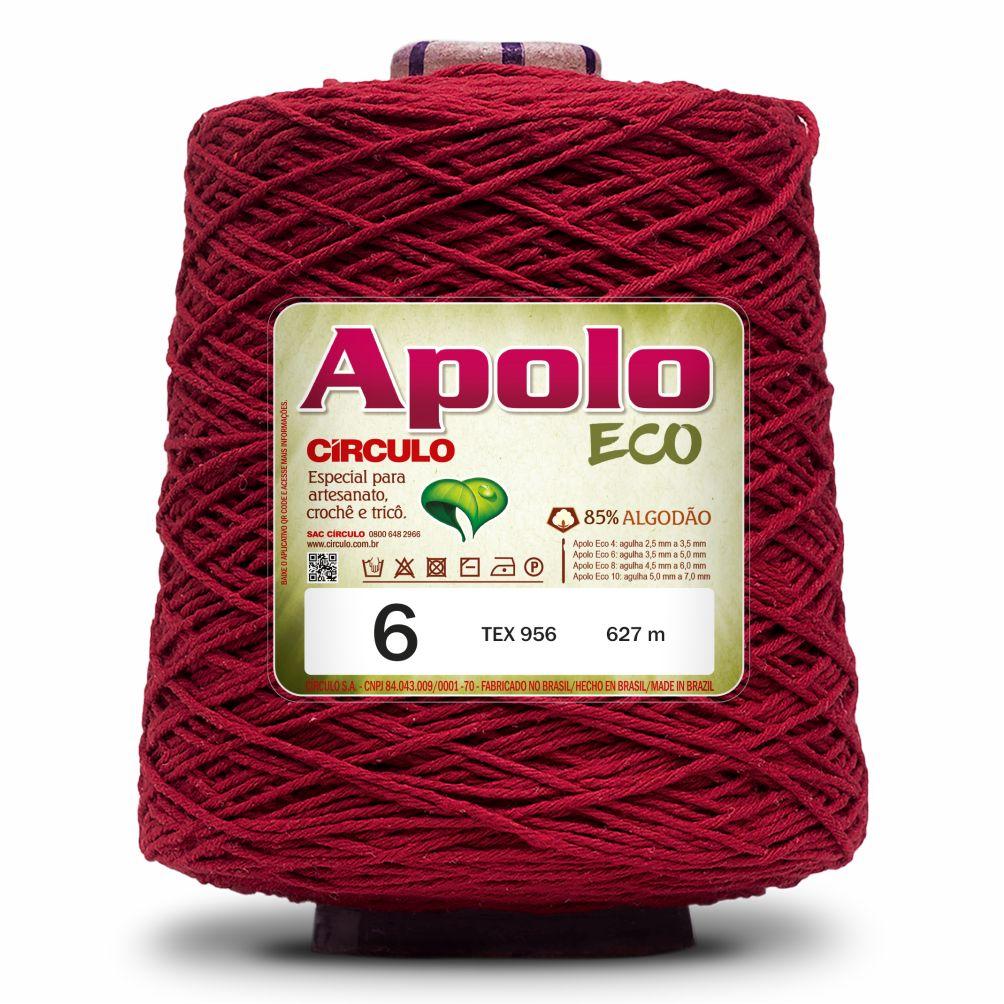 Barbante Apolo Eco Colorido N06 600g - Círculo