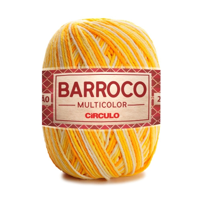 Barbante Barroco Multicolor N06 200g - Círculo
