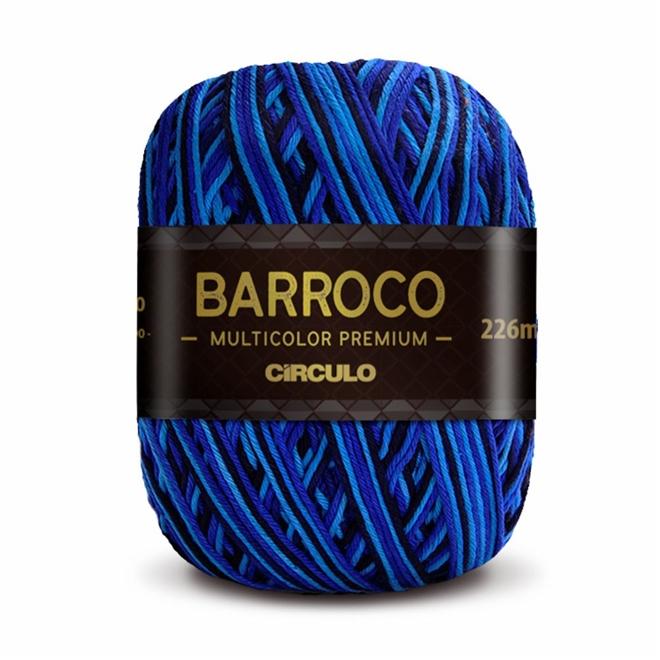 Barbante Barroco Multicolor Premium N06 200g - Círculo