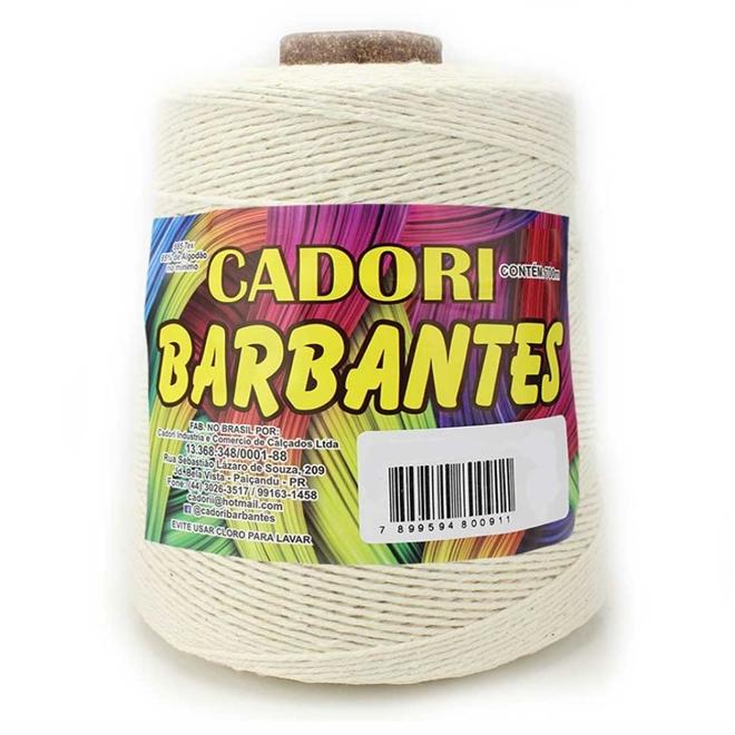 Barbante Crú N08 700g - Cadori