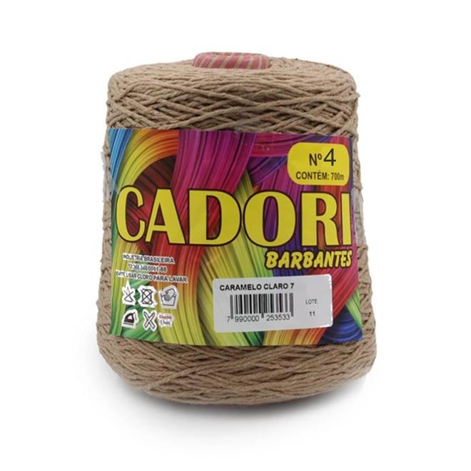 Barbante Colorido N04 700g - Cadori