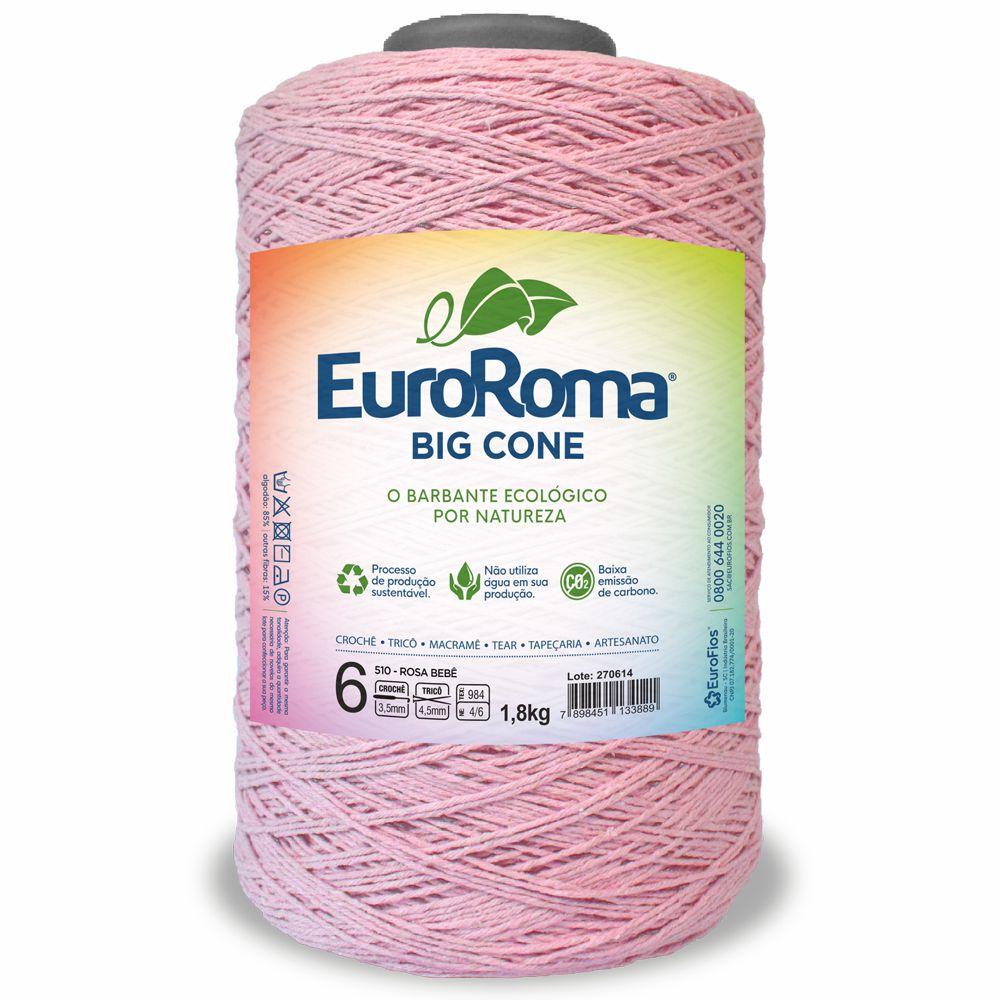 Barbante Colorido N06 1,8 Kg - Euroroma