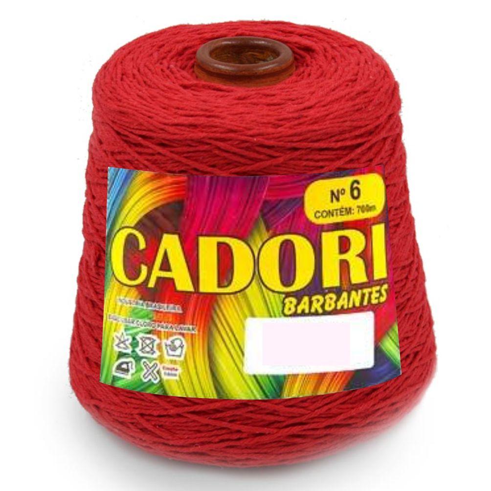 Barbante Colorido N06 700g - Cadori