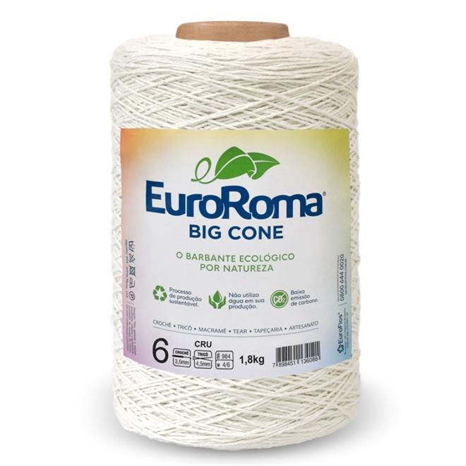 Barbante Crú N06 1,8kg - Euroroma