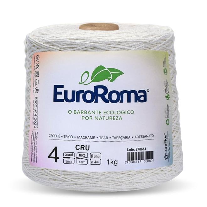 Barbante Crú N04 1kg - Euroroma