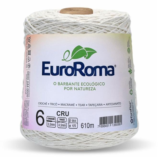 Barbante Crú N06 600g - Euroroma