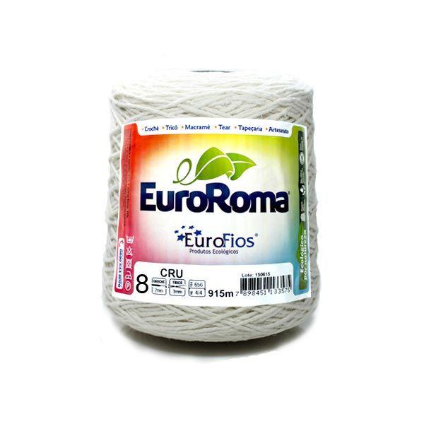 Barbante Euroroma Crú n08 600g - Eurofios