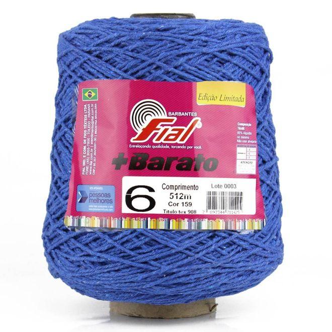 Barbante Fial +Barato Colorido 500g N06