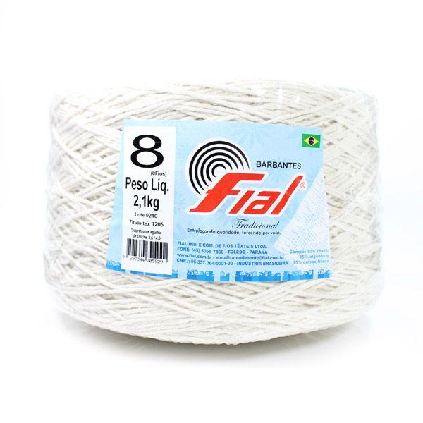 Barbante Fial Crú Super Cone 2,1kg n08