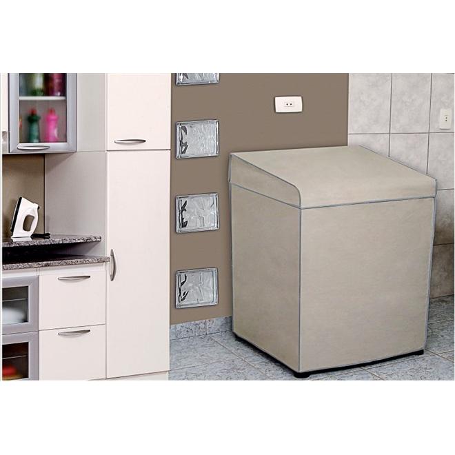 Capa para Máquina de Lavar Eletrolux / Brastemp 15kg - Adomes
