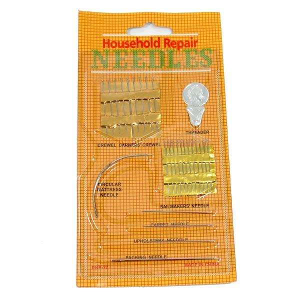 Cartela Needles Grande com 26 Agulhas Sortias - Telanipo