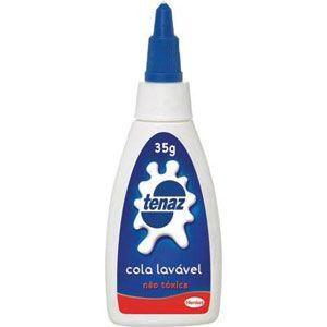 Cola Branca Escolar 35g Lavável Tenaz - Henkel