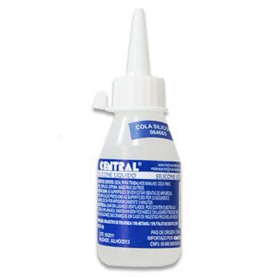 Cola de Silicone Liquida 50g - Central