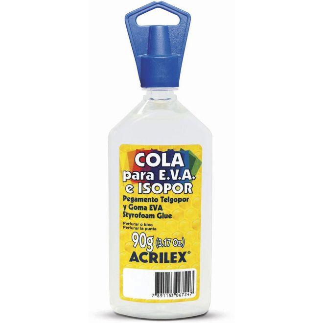 Cola EVA e Isopor 90g - Acrilex